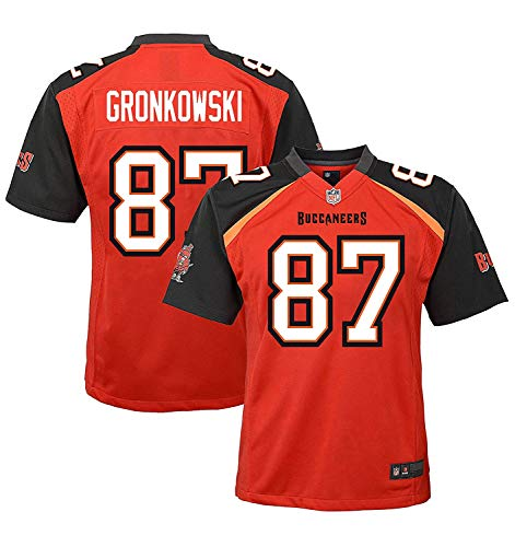 Rob Gronkowski Tampa Bay Buccaneers #87 Red Youth Home Game Day Jersey (14-16)