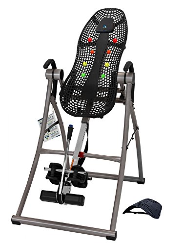 Why Choose Teeter Contour L5 Inversion Table, Deluxe Easy-to-Reach Ankle Lock, Back Pain Relief, FDA...