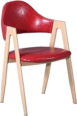 ダイニングチェア北欧ホームシンプルなデスクチェアティーコーヒーショップテーブルと椅子 (Color : B)