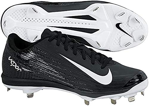 Nike Mens Lunar Vapor Pro Metal Cleats 10.5 US Black/White/Anthracite