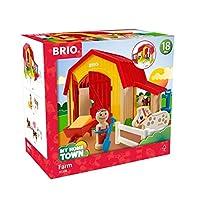 BRIO マイホームタウン ファームプレイセット 30398