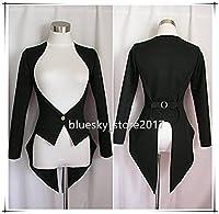 「ノーブランド品」コスプレ衣装 バニーガール用燕尾ジャケット*黒 色変更可能