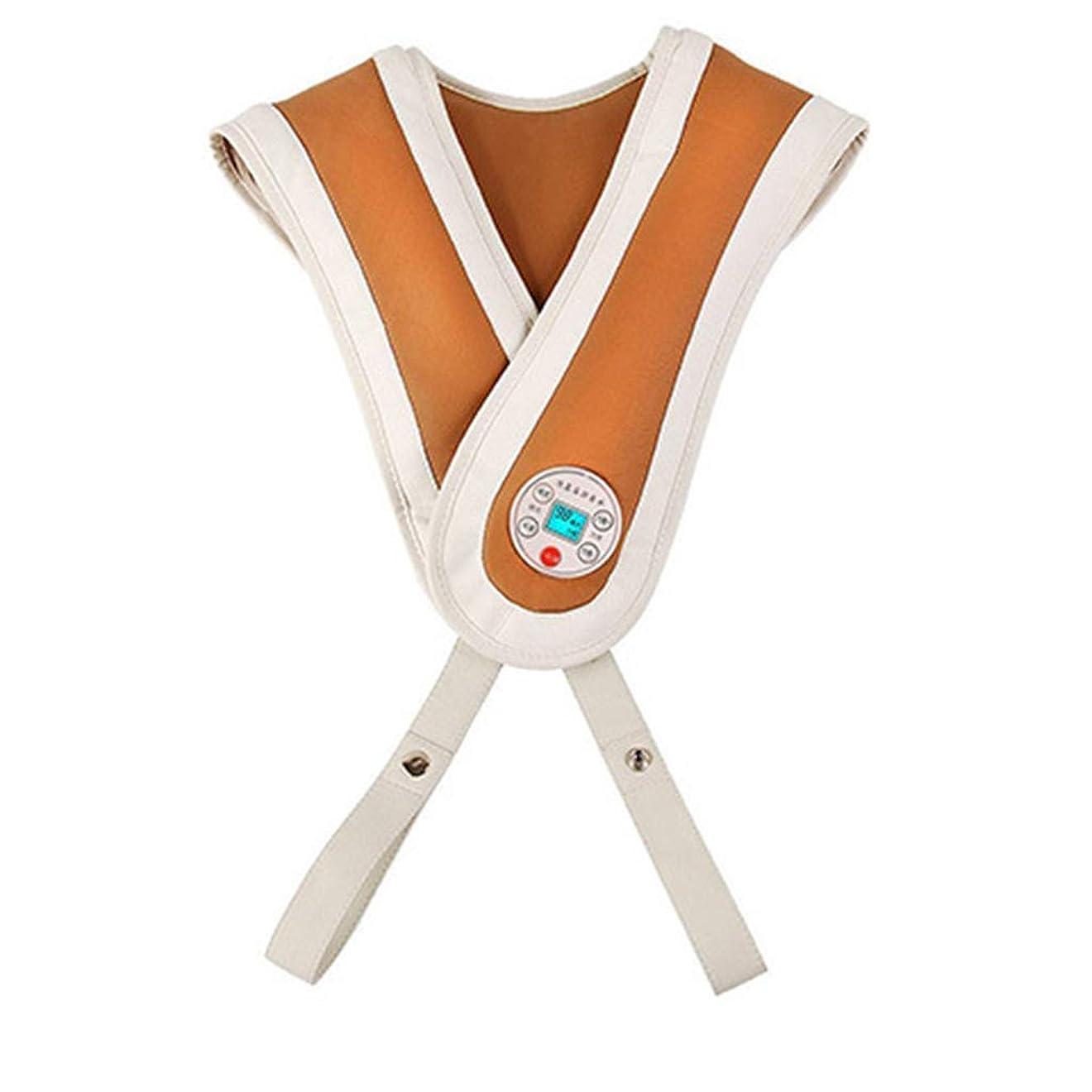 望まない愛くるくるインテリジェント 首の肩の背中のマッサージャー筋肉体の痛みを和らげるための熱と深部組織みマッサージを備えた電気マッサージリラックス 贈り物