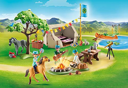 Campamento de verano con Lucky y Spirit Playmobil (70329)