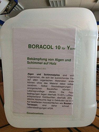 BORACOL 10Y für Yachten - gegen Schimmel, Algen und Moosbildung - 5L