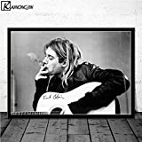 shuimanjinshan Kurt Cobain Dei Nirvana Rock Guitarra Cantant