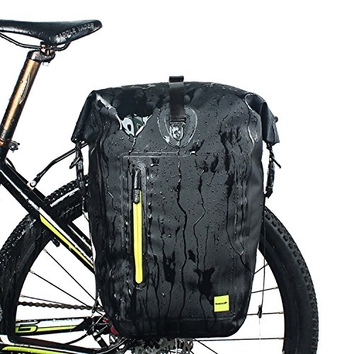 Selighting Borsa Bicicletta Posteriore Cremagliera 25L Impermeabile di WILDKEN Borsa Bici Multifunzionale Pacchetto Zaino Borsa da Bicicletta per Viaggio