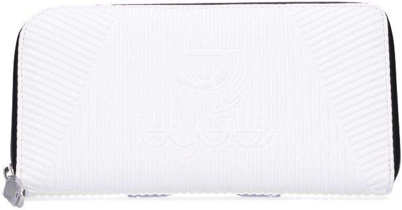 Byblos Women's W0015001 White Faux Leather Wallet