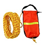 DasMarine Rescue Throw Bag, Rescue Rope Throw Bag with Floating Rope for Boating Kayaking Ice Fishing Sailing (70FT)