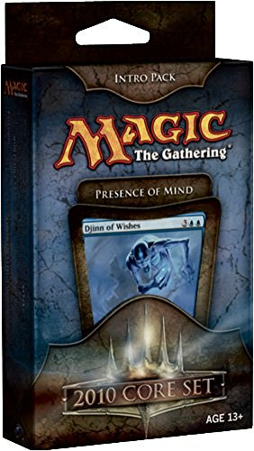Magic the Gathering- MTG: Magic 2010 Core Set - Theme Deck - Intro Pack Blue : Presence of Mind