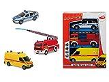 Dickie Toys 203712001 - Llamada de Socorro Equipo Conjunto, Coches y Modelo de tráfico
