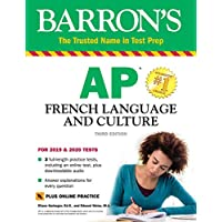 AP French Language and Culture with Online Test Kindle