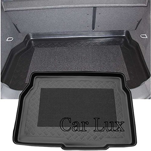 Car Lux AR01684 - Alfombra Bandeja Cubeta Protector Maletero para Astra H