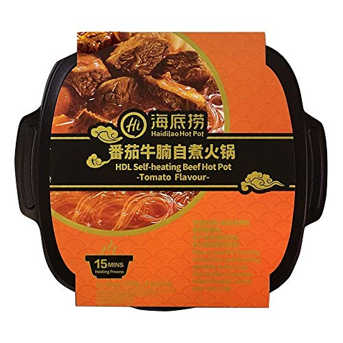 Haidilao Self-Heating Beef Hot Pot Tomato Flavour 220g