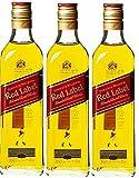 Johnnie Walker Speyside Red Label Blended Scotch Whisky 20 cl - Lot de 3