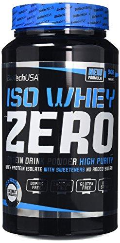 Biotechusa Iso Siero Di Latte Zero Supplemento Polvere, Cocco - 910 g