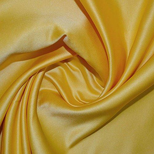 Sunflower Duchess Satin-Stoff
