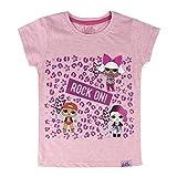 L.O.L. Surprise ! T-Shirt Fille avec Poupées Lol Dolls IT Baby, Leading Baby,...