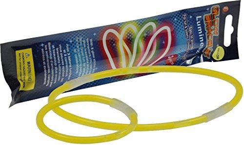 ChiliTec Bracciali Luminosi, 200 x 12 mm, Diversi Colori