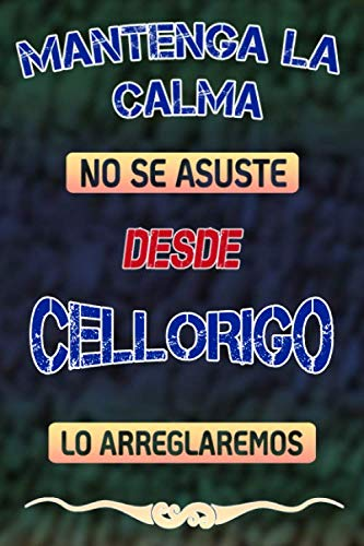 Pas de panique, nous allons le réparer depuis Cellorigo lo arreglaremos: Cuaderno   Diario   Diario   Página alineada