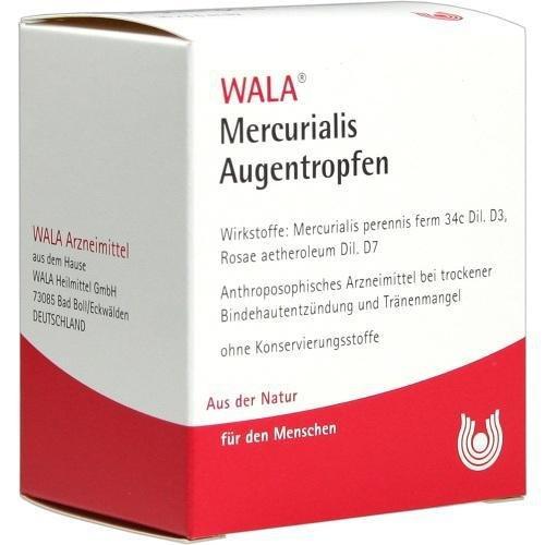 WALA Mercurialis Augentropfen, 15 ml Lösung