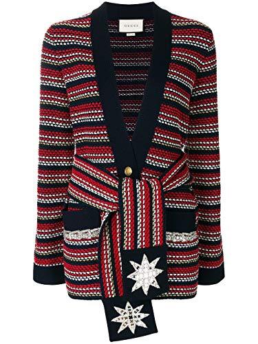 Luxury Fashion | Gucci Dames 519842X9T034423 Rood Viscose Vesten | Herfst-winter 19