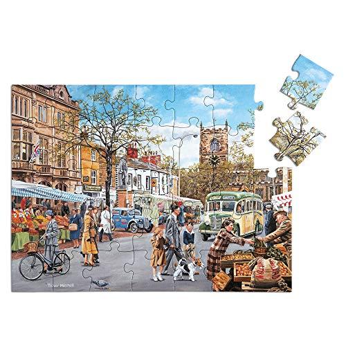 'Autumn Market' Puzle de 35 Piezas diseñado para Personas ancianas con Demencia / Alzheimer's
