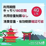 (20GB~/180日)日本docomoプリペイドデータ専用SIM 長く使えば使うほど安くなるSIM 有効期限きっちり180日 更なる延長により無期限に 20GB+最大256Kbps 容量無制限 SIMピン付 リチャージによりGB単価160円台へ 4G/LTE対応