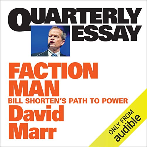Quarterly Essay 59: Faction Man cover art