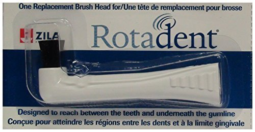 RotaDent Legacy/Classic Brush Heads Flat Hollow Tip by Pureline Oralcare