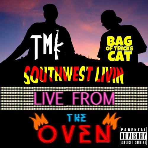 TMK & Bag of Tricks Cat
