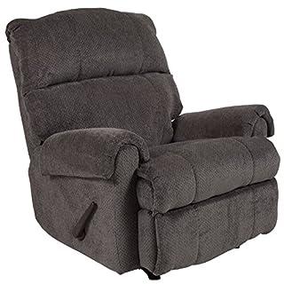 Flash Furniture Contemporary Kelly Gray Super Soft Microfiber Rocker Recliner (B079ZP9NZK) | Amazon price tracker / tracking, Amazon price history charts, Amazon price watches, Amazon price drop alerts
