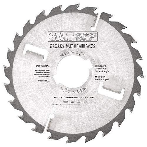 CMT Orange Tools CMT 277.024.12M - Sierra multiple con dentones 300x4x30 z=24+4 atb
