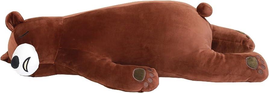 二週間微妙政治家アルタ 抱き枕 もっちり 床ごこち 添い寝  クマ ごろう AR0628121