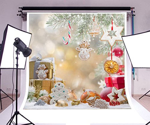 5x7ft Photography Background Vinyl Best Choice Christmas Beautiful Pattern Personal Photo Backdrop Studio Props