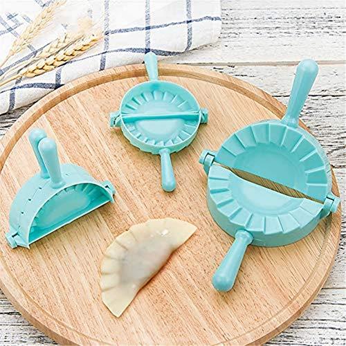 KAUTO 3 Pezzi gnocco Maker Torta Ravioli Stampo Wrapper tagliapasta, Pasticceria utensile da Cucina per Cucinare Gnocchi Stampo Accessori