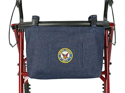 奶奶乔产品美国军用步行者/轮椅包,海军
