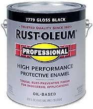 RUST-OLEUM 242253 Professional Gallon Black Gloss Finish