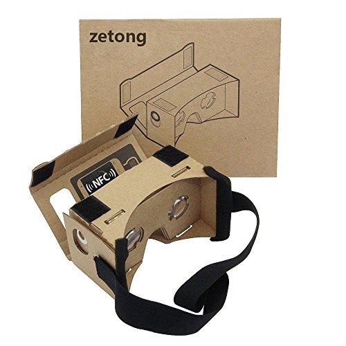 Google Cardboard Kit - Zetong Lentille 3D Virtuelle Réalité...