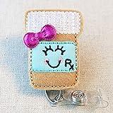 PILL BOTTLE Rx Badge Reel, Pharmacist Retractable Badge Reel, Pharmacist Gift, Pharmacy Tech Badge Reel Gift, Happy Pill Bottle ID Holder