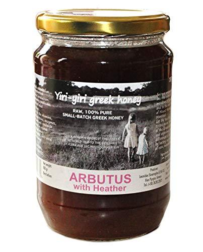 RAW Griekse honing 100% puur – ARBUTUS (AARDBEIDSBOOM HONEY) met Heide 960g – een zeldzame winterhoning met…