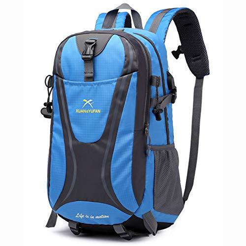 DWGYQ USB Chargement Voyage Sac d'alpinisme en Plein air, Grande capacité de Sport Sac à Dos de Camping des Fournitures appropriées pour Les Hommes et Les Femmes,L6