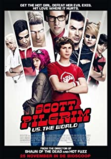 Scott Pilgrim vs the World (Dutch) 11x17 Movie Poster (2010)