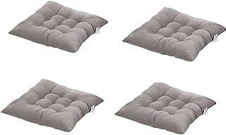 cuscino per sedia da pranzo per sedie da cucina e da esterni traspirante 40 x 40 cm Tessuto HomeMiYN Type4 spessore 10 cm resistente imbottito