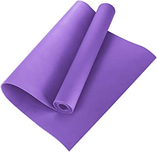 Hughdy - Esterilla de yoga de 4 mm de EVA antideslizante,