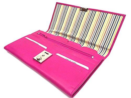 Golunski 1004, Portafogli da viaggio Unisex adulti Donna Uomo, Pink (rosa) - 1-004