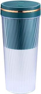 TEBI Draagbare Blender Persoonlijke Grootte Mini Blenders Cup Juicer Cup USB Opladen met 2 Blades Elektrische Power Mixer ...
