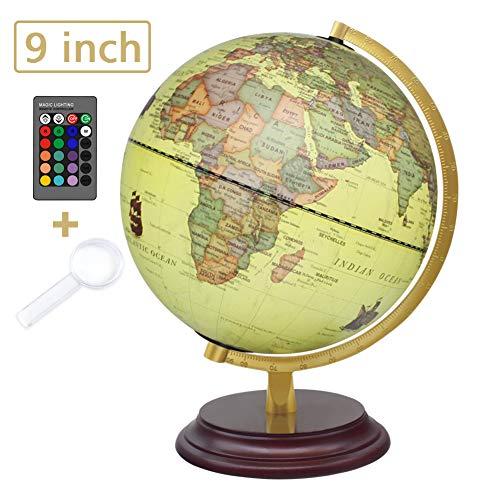 world globes illuminated - 4