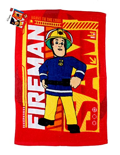 Feuerwehrmann Sam Handtuch 40x60cm Fireman Sam