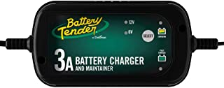 Battery Tender 3 Amp Charger and Maintainer: Switchable 6/12 Volt, Fully Automotive Battery Charger and Maintainer for Cars, SUVs, and Trucks - 6V / 12V, 3 Amp Charger by Deltran - 022-0202-COS